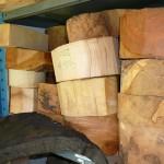 Runddele i mange str. og træsorterPris fra kr. 100,->